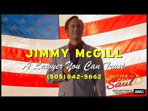 "Better Call Saul - ""GIMME JIMMY"" TV commercial"