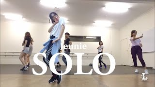 JENNIE - 'SOLO' (CBznar Remix) ISOL x YETTA Choreography COVER3L dance Beginner's ...