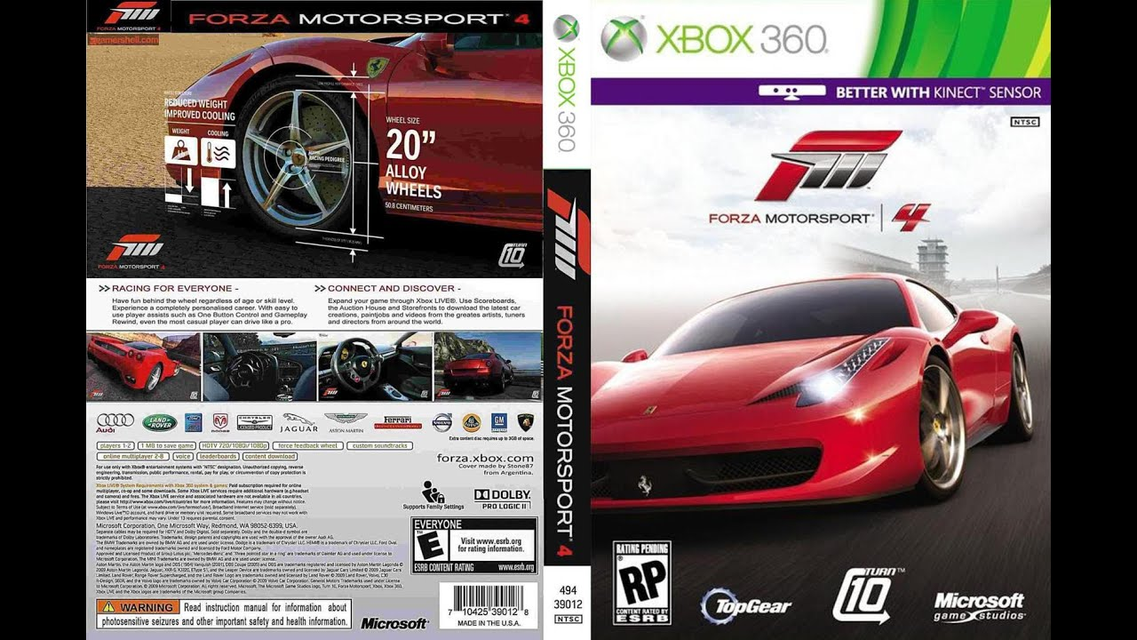 unboxing forza motorsport 4 pt br xbox 360 youtube. Black Bedroom Furniture Sets. Home Design Ideas