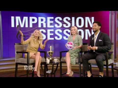 Kristin Chenoweth Plays Impression Session