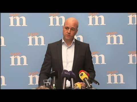 Fredrik Reinfeldt Öppna era hjärtan