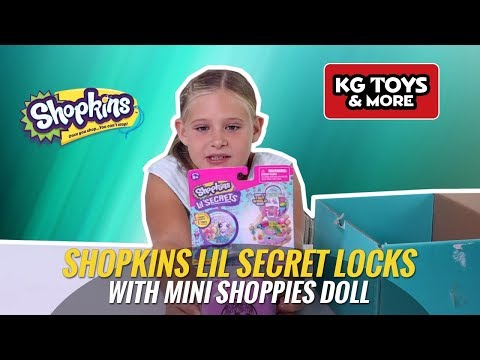 Shopkins Lil Secret Locks With Mini Shoppies Doll