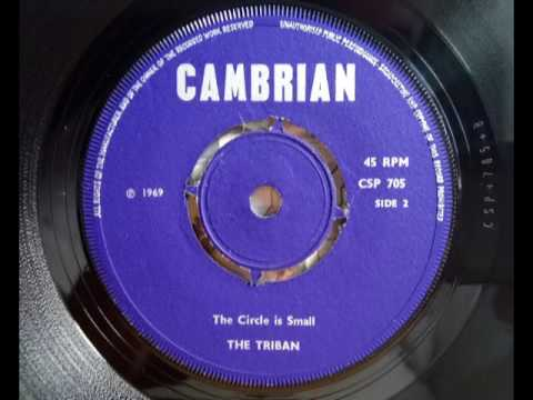THE TRIBAN - The Circle Is Small - CAMBRIAN CSP 705 - UK 1969 Psych Folk Male Vocal - English Vocals