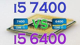i5 7400 vs i5 6400 benchmarks gaming tests review and comparison kaby lake vs skylake