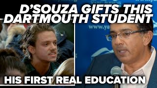 RUDE & WRONG: D'Souza gifts this Dartmouth student his first real education