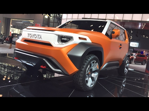 Toyota FT4X Concept Car FIRST DESIGN REVIEW - LIVE from the #NYAutoShow