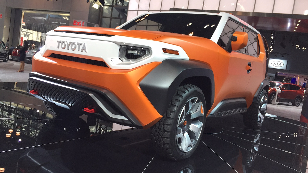 Toyota Ft 4X >> Toyota FT4X Concept Car FIRST DESIGN REVIEW - LIVE from the #NYAutoShow - YouTube