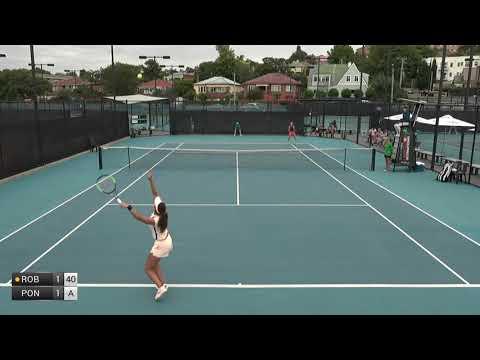 Robson Laura v Ponchet Jessika - 2018 ITF Launceston