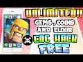 Unlimited Gems,Gold And Elixir..New Ultimate Clash OF Clans Hacks 2017 (No Jailbreak)(No Computer)!!
