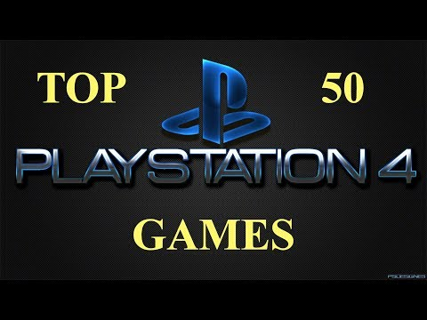 TOP 50 best games on PlayStation 4 (Metacritic rating) September 2017