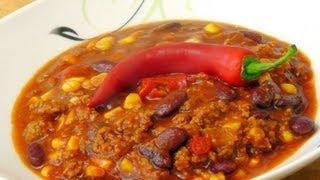 Chili con Carne mit Zimt