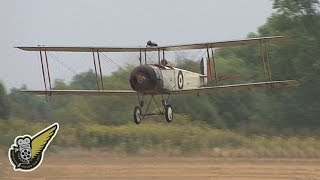 sounds of ww1 3 rotary engine aircraft wow 2011
