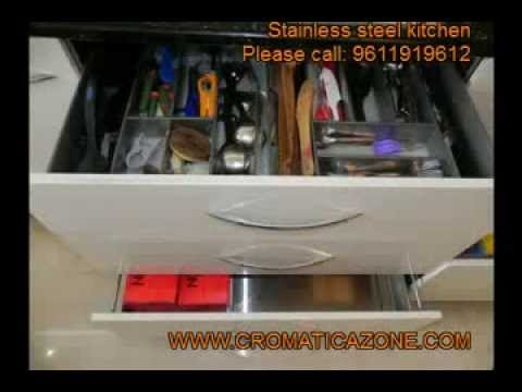 Stainless Steel Modular Kitchen Bangalore India Call Us For Best Price 91 9611919612 You