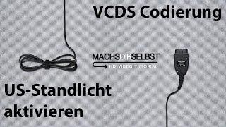 [Golf V] USStandlicht codieren mit VCDS Tutorial (HD)