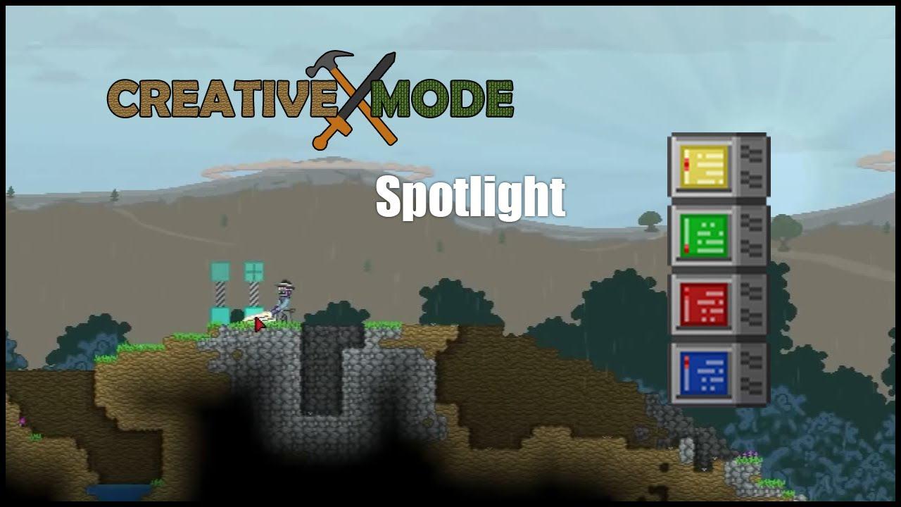 Starbound - Creative Mode Spotlight + Installation - YouTube