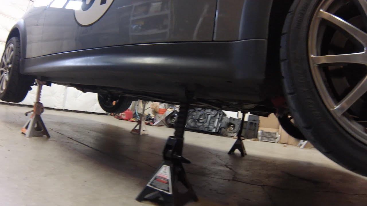 Put Mini Cooper On 4 Jackstands The Easy Way R50 R53 R55