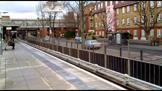 3 Jubilee Lines & 2 DLR trains at West Ham plus DLR journey to Star Lane