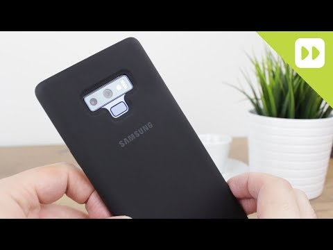 Official Samsung Galaxy Note 9 Silicone Cover Review