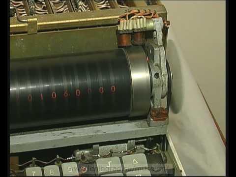 Old Russian calculator stroboscopic display