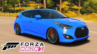 Forza Horizon 2: TUNANDO O HYUNDAI VELOSTER! #44