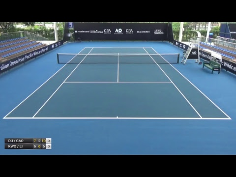 Australian Open 2018 Asia-Pacific Wildcard Play-off | Court 5  | Day 1