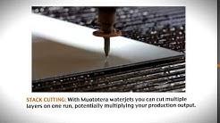 FinJet Water Jet Cutting Machine Functions