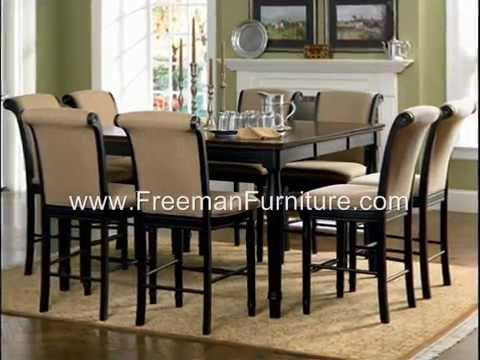 Dining Room Furniture Atlanta | www.FreemanFurniture.com - YouTube