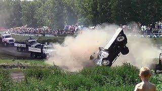 █ Автокросс.  Тормоза нужны, чтобы устраивать катастрофы (машины, автоспорт).