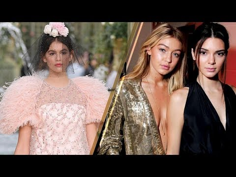 Kendall Jenner & Gigi Hadid REPLACED by THESE Rising Supermodels for Paris Fashion Week!