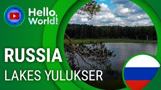 Yulukser lakes • RUSSIA • TravelGuide''Hello World'' 60FPS. In the endless forests of Mari El Republic