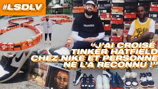 UNE COLLECTION SNEAKERS SORTIE DES ANNÉES 90 ! #LSDLV EN DIRECT DE LA BLOCK PARTY D'HERBBY !