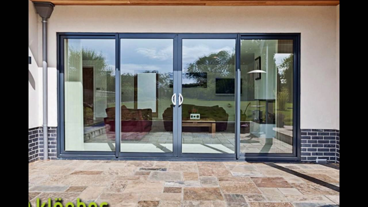 Aluminium Sliding Doors Youtube