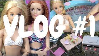 VLOG #1 - Havuza Gittik Girdik Yüzdük - Hamakta Sallanıp Hamburger ve Taco Yapıp Yedik!! - Bellista