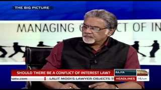 The Big Picture - Should there be a conflict of interest law?