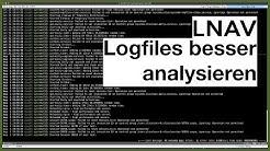 The Logfile Navigator - Logdateien besser analysieren (LNAV)