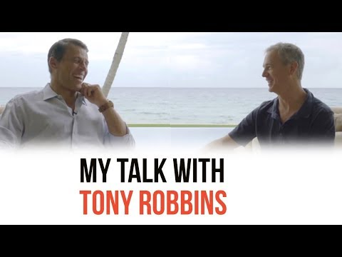 My Talk with Tony Robbins