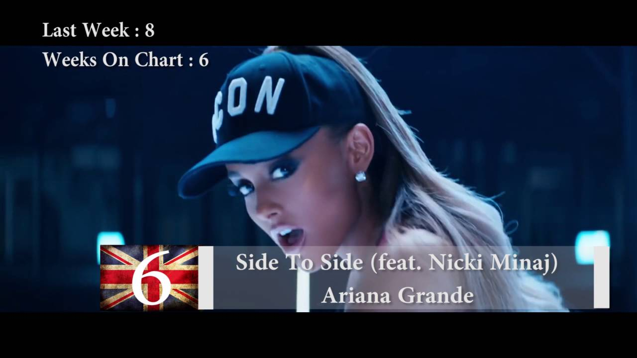 Download Top 10 Songs Of The Week - 1 October, 2016 - UK BBC Chart