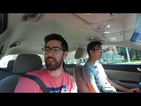 Silicon Valley Driving Tour and exploring Stanford University