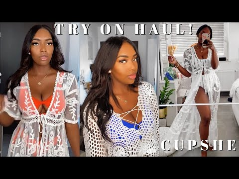 Affordable Cupshe Bathing Suit & Cover Up Try-on Haul ✨ from YouTube · Duration:  9 minutes 34 seconds
