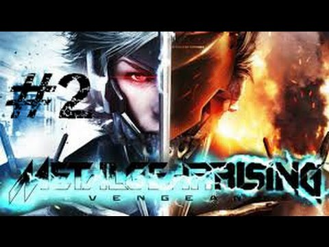 Metal Gear Rising: Revengeance | ps3 capitulo 2