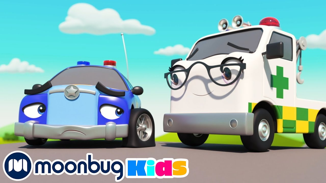 The Lights On The Firetruck | Go Buster by Little Baby Bum | Baby Cartoons | Kids Animation