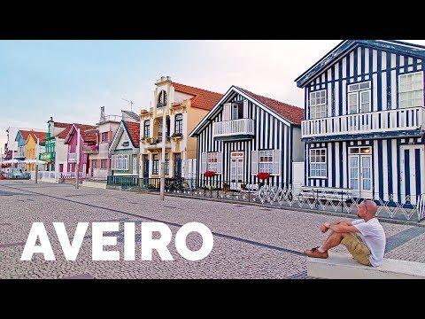🏠🏠 Ver AVEIRO (Portugal) y Costa Nova - 🌎 Viaje a Portugal y Galicia (2/6)