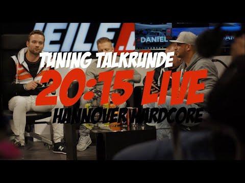 Große Tuning Talkshow 2017 moderiert von Philipp Kaess Live auf Hannover Hardcore - JP Performance