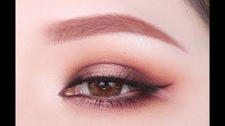 暖棕大地色日常微醺眼妆教程 | Warm Brown Eye Makeup Tutorial