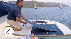 DIY: Solar Power Installation - How to Install Solar on a Boat / (Sailing Zatara Z-Log)