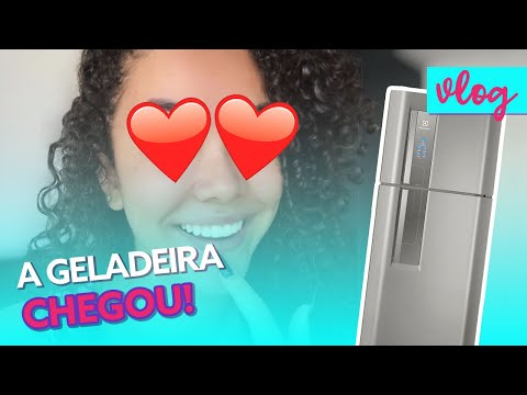 MORANDO SOZINHA EM SÃO PAULO • A GELADEIRA CHEGOU!!!