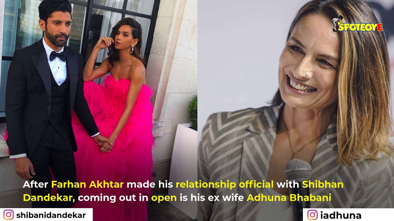 Download Farhan Akhtar's ex-wife Adhuna Bhabani Kisses her partner in her Insta Story | SpotboyE