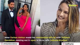 Farhan Akhtar's ex-wife Adhuna Bhabani Kisses her partner in her Insta Story | SpotboyE