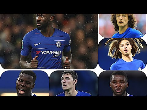 Which two players plays at Centre back for Chelsea, 6 choices 2 to choose you decide #Chelseafc
