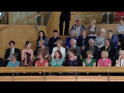 Election of the Presiding Officer (Part 2 of 2) - Scottish Parliament: 12th May 2016